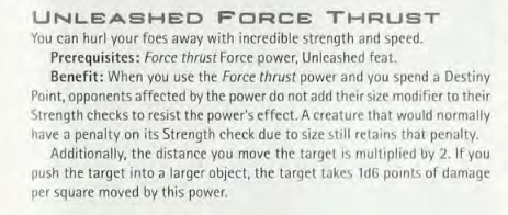 Why Starkiller's Lightning Clash against Sheev at the end of TFU isn't an Unleashed/Destiny feat Force_19
