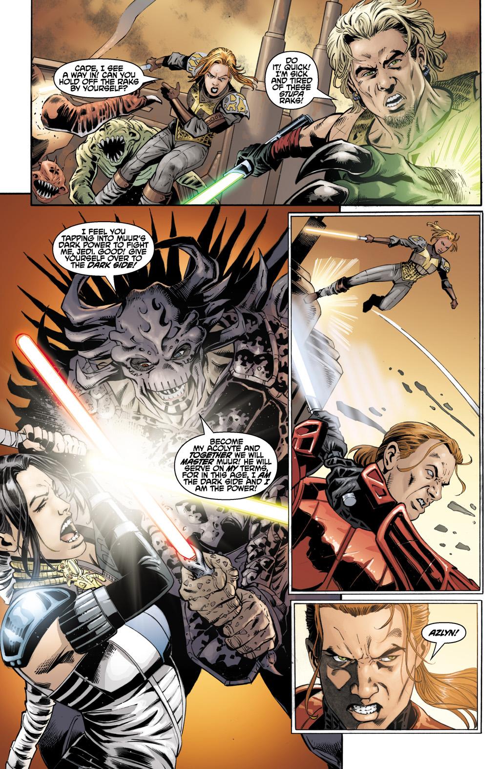 SS - Cade Skywalker (ArkhamAsylum3) vs. Darth Malgus (Praxis) Krayt_18