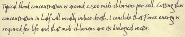 Ascribe Midi-chlorian Counts Plague15