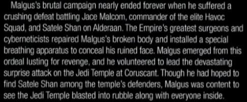 Darth Malgus Respect Thread Recons10