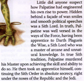 Could Sidious have defeated Plagueis without drugging him?  Sheev_15